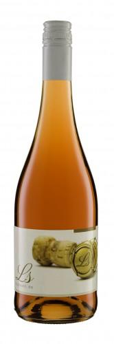 Rosé Secco 0,75 l Klar-Weiß / BVS-Schraubverschluß rot